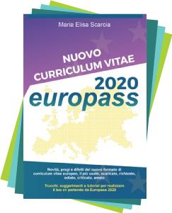 Nuovo curriculum vitae Europass 2020 di Maria Elisa Scarcia